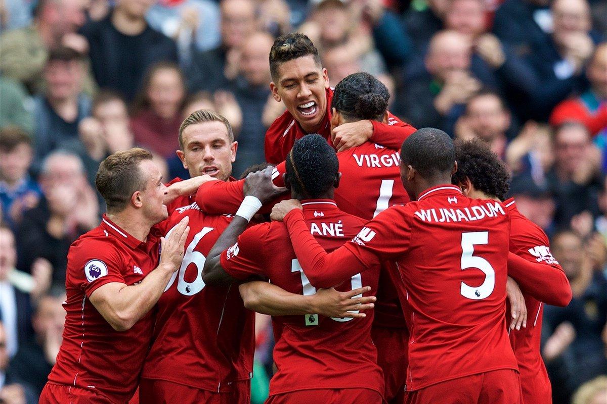 Liverpool Bekerja Pada Selisih Gol Di Awal Pertandingan